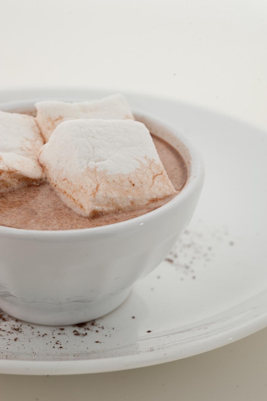 Delysia Chocolatier's hot chocolate.