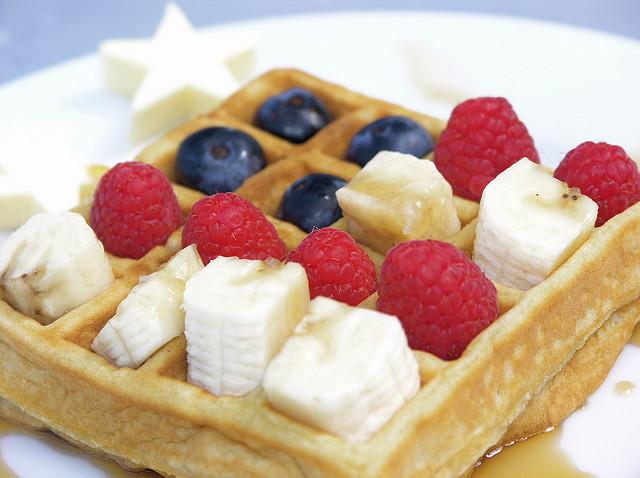 flag waffle