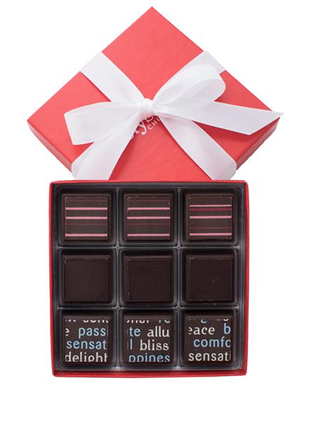 Dark collection chocolate truffles