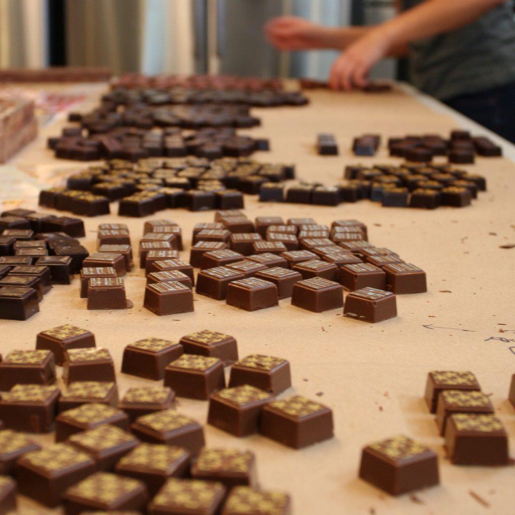 Kitchen Preparation with truffles