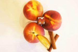 Peach Cobbler chocolate truffle