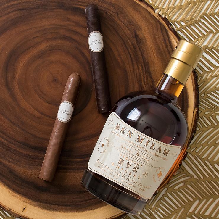 Ben Milam Cigars square