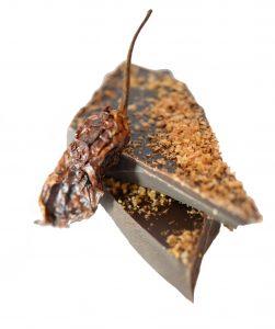 ghost pepper chocolate bark savory meal