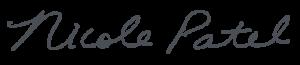 nicole patel signature