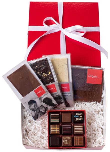 Thank you gift box small  sc 1 st  Delysia Chocolatier & Thank you gift box small - Delysia Chocolatier