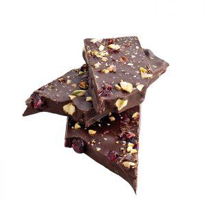 Delysia-Chocolatier-Cranberry-Pistachio-Dark-Chocolate-Bark-1