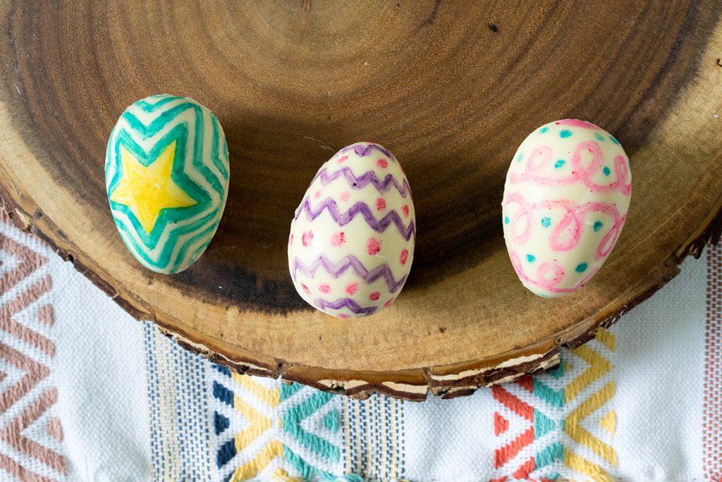 Delysia chocolate Easter eggs