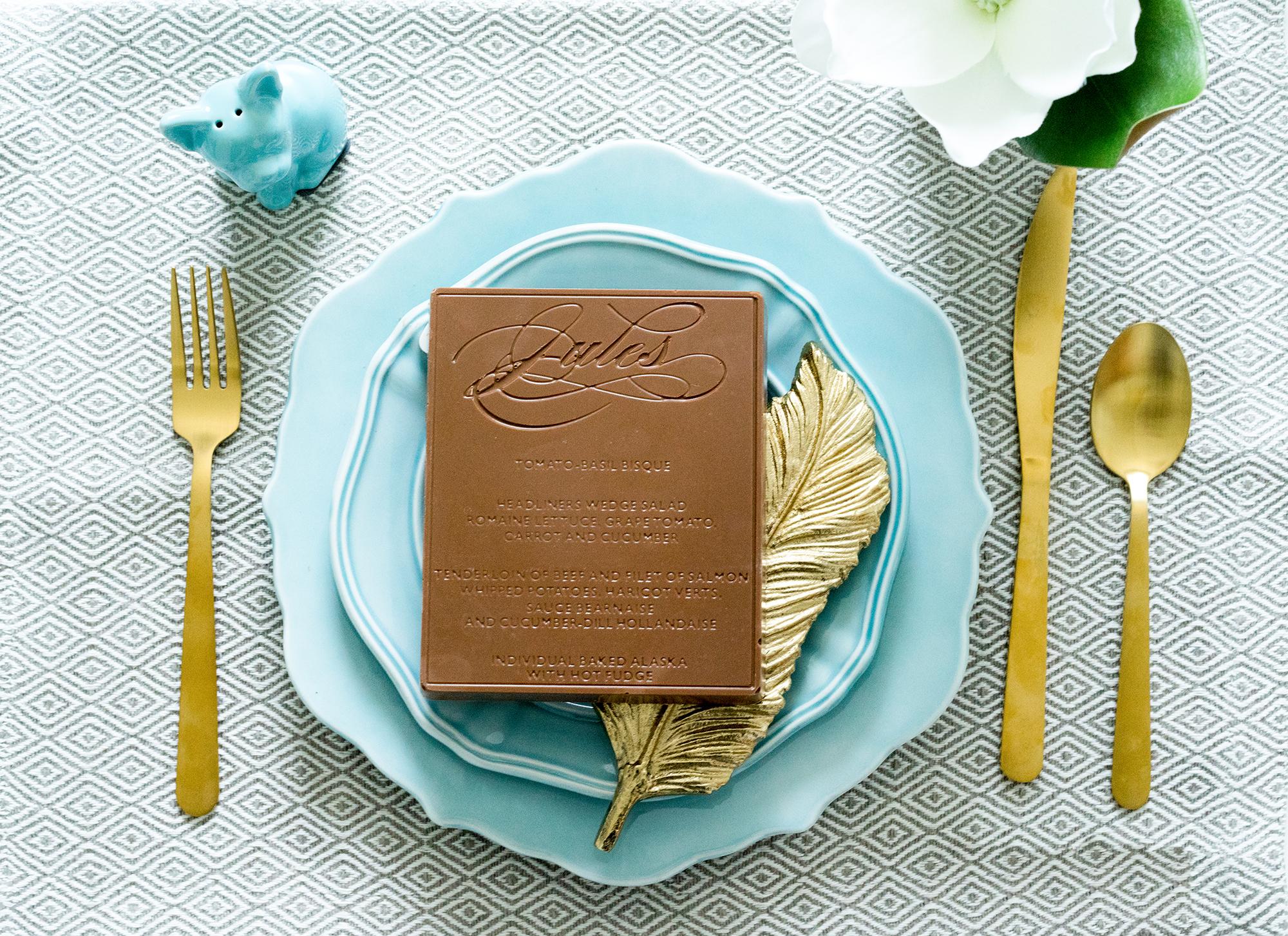 Delysia Chocolatier unique wedding chocolates