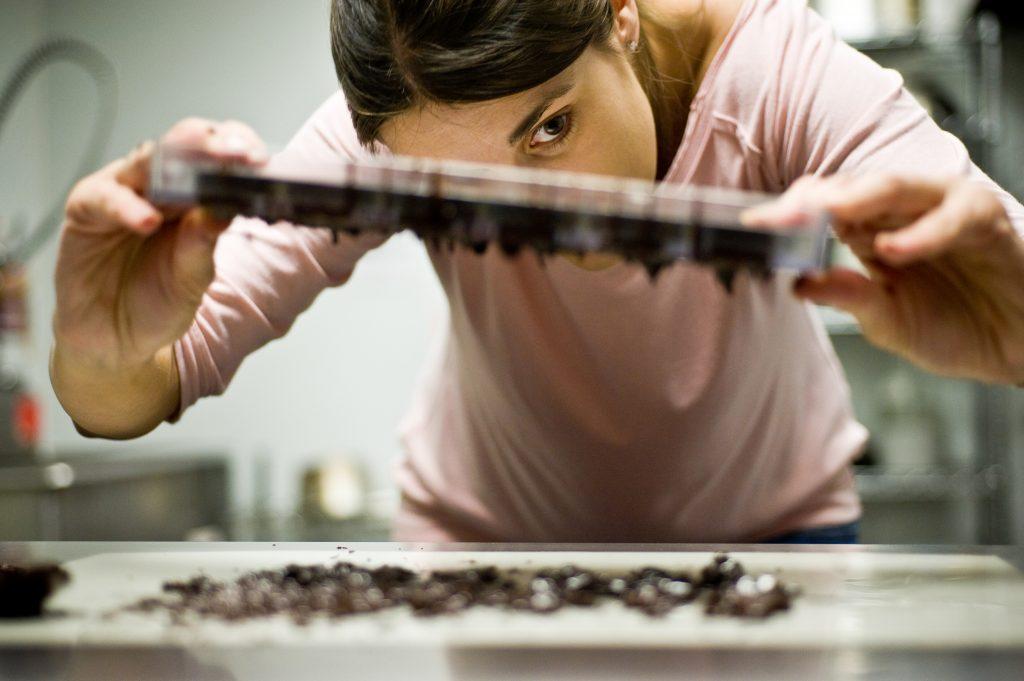 Handmaking Truffles
