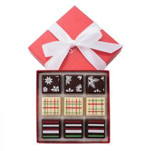 Delysia-Chocolatier-Winter-Collection-Chocolate-Truffles-Austin-Texas-Shop-bow-shop category